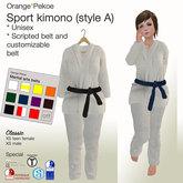 Orange*Pekoe - Sport kimono (style A) - White