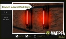 MadPea Tenebris Industrial Wall Lamp