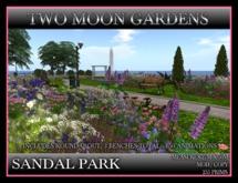 SANDAL PARK* Landscape Garden Park with 150 animations