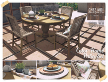 Color Home Patio Set ♥ CHEZ MOI