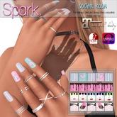 SPARK. - Nails - Sugar Rush [MAITREYA/SLINK/OMEGA/VISTA]