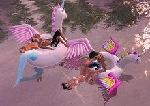 {ACD} Babygirls Pegicorn Floaty Set PG