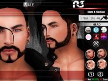 [ R3 ] Beard & Hairbase 17BH. 1201 - 01