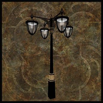 """EF-Lighting: """"Arcs"""" Streetlight - 4 Arm"""