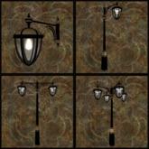 """EF-Lighting: """"Arcs"""" Streetlight - Complete Set"""