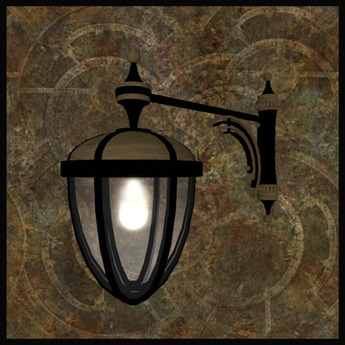 "EF-Lighting: ""Arcs"" Streetlight - Wall Mounted"
