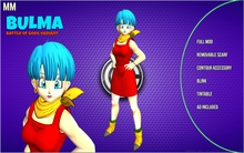 Dragon Ball  - BULMA ( Adult )