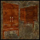 EF-Furniture: Featherstone Wardrobe - Burr Oak