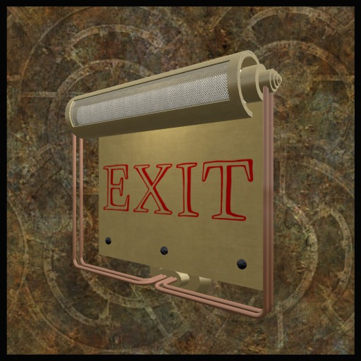 EF-Lighting: Exit Sign