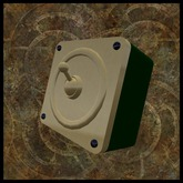 EF-Lighting: Square Industrial Switch - Brass