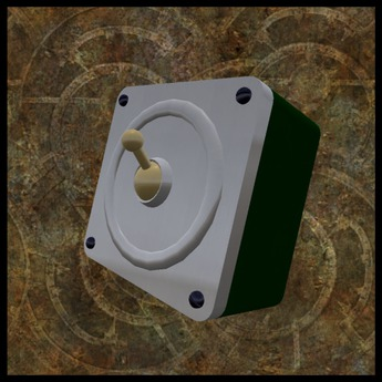 EF-Lighting: Square Industrial Switch - Steel