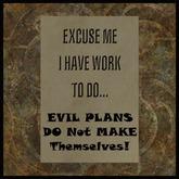 EF-Home: Evil Plans