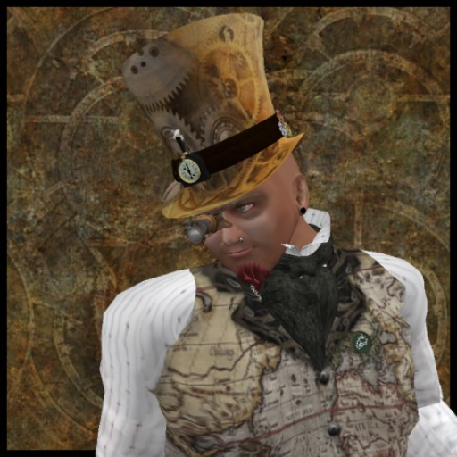 EF-Hats: Steam Clock Top Hat - Male