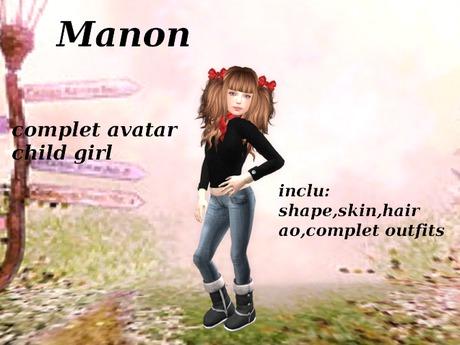avatar child girl Manon
