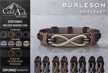 {COLD-ASH} Mens MESH BURLESON Bracelet