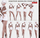 SEmotion Female Bento Modeling poses Set 6 - 10 static poses