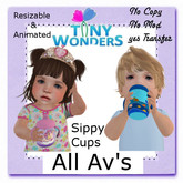 Tiny Wonders Unicorn Sippy Cup