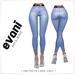 EVANI - ANITA jeans [Blue]
