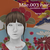 *booN Mae.003 hair all color pack