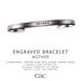 Cae :: Engraved :: Bracelet :: Mother [bagged]