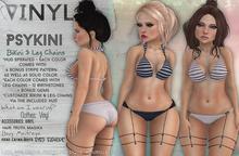 Vinyl - Psykini Bikini & Leg Chains Pak FATPAK