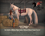 "The Painted Pony~  ""Cupid""  Albino Specular Coat for *WH* Riding Horse"