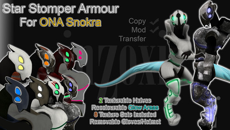 [inZoxi] - Snokra StarStomper Armour