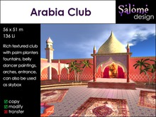 Arabia Club - Belly Dance Club - multi purpose