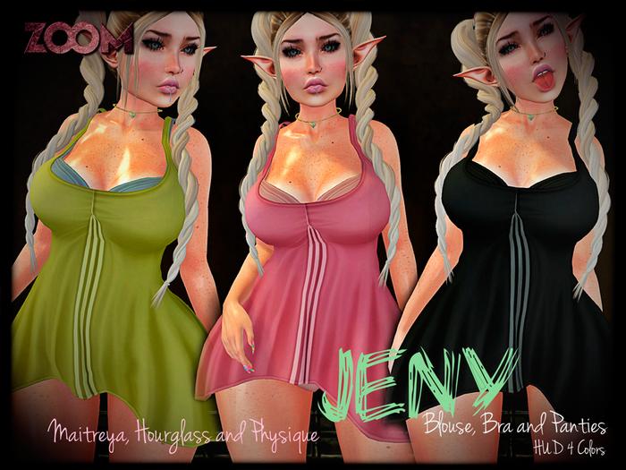 zOOm - Jeny Tshirt, Bra and Panties ADD ME