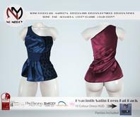 No Mercy - Hyacinth Satin Dress Fat Pack - Maitreya / Slink / Belleza / Altamura / TMP / eBODY