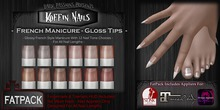DP - Koffin Nails - FatPack - French Gloss Tips