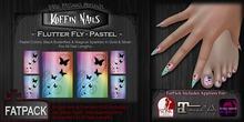 DP - Koffin Nails - FatPack - Flutter Fly - Pastel
