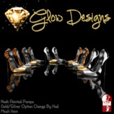 .:Glow Designs:. Noah Pointed Pumps FATPACK BOXED
