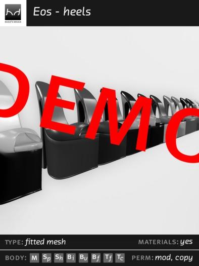 *HDM* Eos - [Demo] Heels style1
