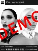 *HDM* Eos - [Demo] Neck Corset v1.4 (Wear Me)