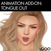 LOGO Bento Mocap Facial Animation 16 - Tongue Out