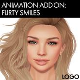 LOGO Bento Mocap Facial Animation 26 - Flirty Smiles