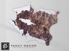 Fancy Decor: Cowhide Rug