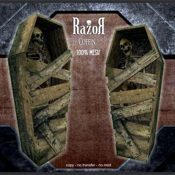 Razor - Coffin BOX