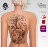 TSB ::: Tattoo wolf woman