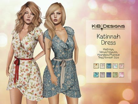 KiB Designs - Katinnah Dress FATPACK