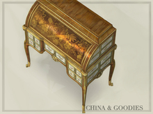 Secretary Desk a Vincennes  -C&G-