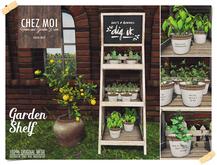 Garden Shelf ♥ CHEZ MOI