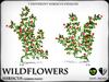 Heart   wildflowers   hibiscus   ref2