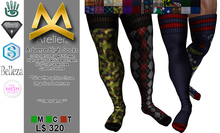 <MK> Adverse High Socks - Belleza - Aesthetic - Signature - TMP