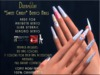 """[Dreamlight] """"Sweet Candy"""" Bento Nails"""