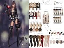 =Zenith=Criminal Police Boots (Khaki) -Maitreya