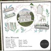 Scarlet Creative Miss Blossom Chair - White MT