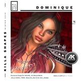 .:KILLA SHAPES:. DOMINIQUE_Wear to Unpack