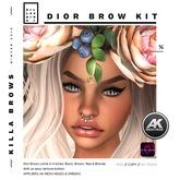 .:KILLA SKINS:. BROW KIT_Dior_Wear to Unpack